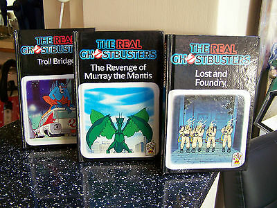 the real ghostbusters books carnival 1989 x3