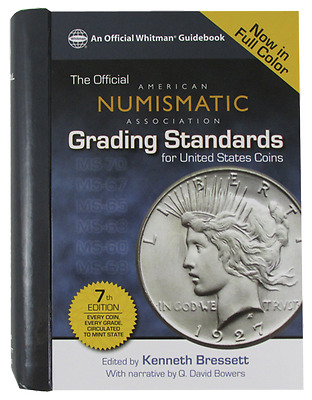 ANA Grading Standards for United States Coins Book, 7th Edition - #7894838243