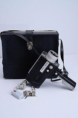 Yashcia Super 50 Vintage Movie Camera f8 40mm With Carrying Case