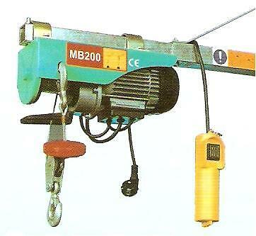 W&J Scaffold Electric Hoist 300/150kg (Swing Arm Not Included)