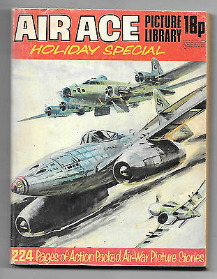 Air Ace Holiday Special (1973, 224 pages) high grade copy, Ian Kennedy strip