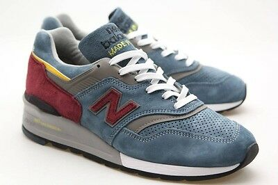 new arrival e1b09 7d8ac NEW BALANCE MEN M997DTE - Made In USA blue burgundy M997DTE