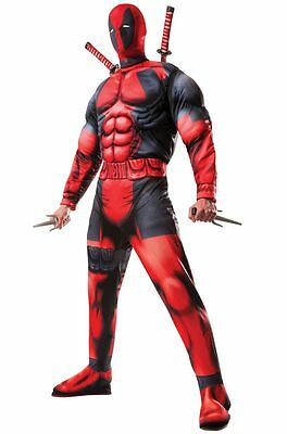 Deadpool Deluxe Adult Wholesale Costumes & Mask(Box of 24) Marvel X-Men