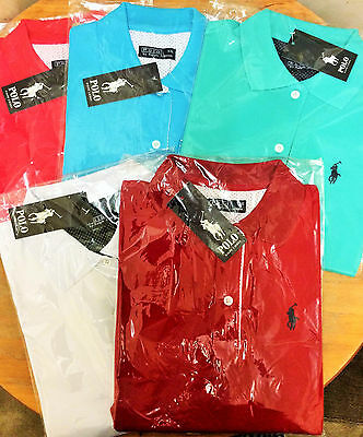 Ralph Lauren Womens Polo Shirts Slim Modern Fit Soft Cotton AUTHENTIC UK STOCK