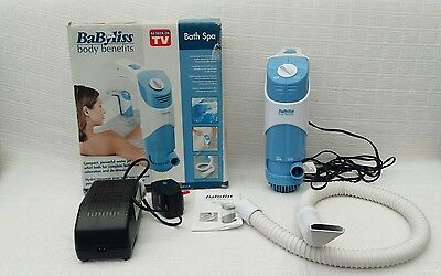 BABYLISS BODY BENEFITS BUBBLE JET SPA - GOOD CONDITION + Boxed
