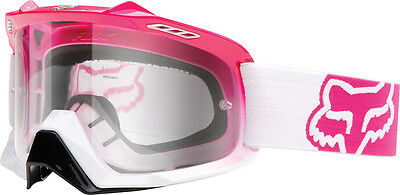 Fox AIRSPC Goggle HOT PINK Air Space MX Enduro Goggles SALE!! RRP$89.95