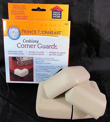 Corner Guards Prince Lionheart Protection from Sharp Corners NIB