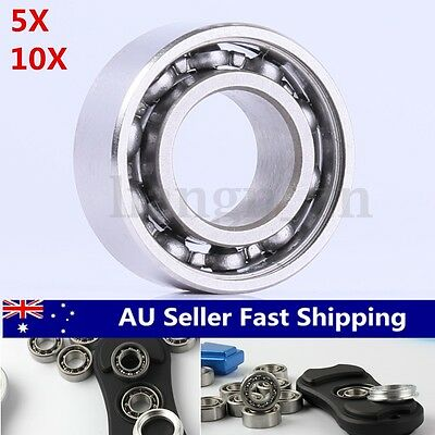 5x 10x R188 Hybrid Ceramic Ball Inline High Speed Bearing For Finger Spinner Toy