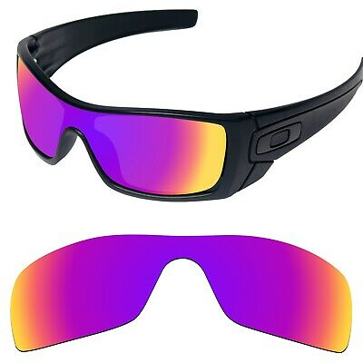 Tintart Polarized Replacement Lens for-Oakley Batwolf Magenta Red (STD)