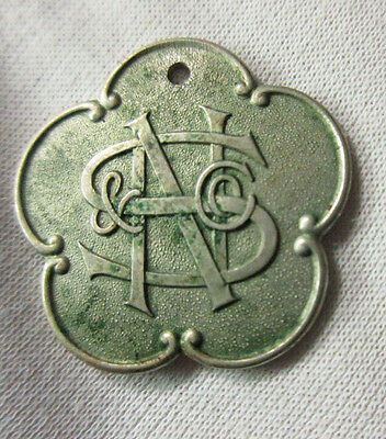 Ns&c N. Snellenburg & Co. Charge Coin Token Credit Card Tag Philadelphia Pa