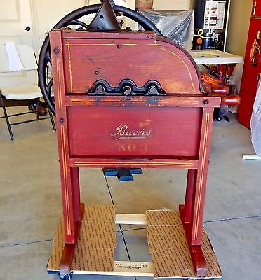 Awesome Buch's No 3 Antique Corn Sheller in Great Shape Circa 1900 all original
