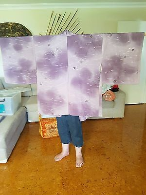 Japanese silk women's haori