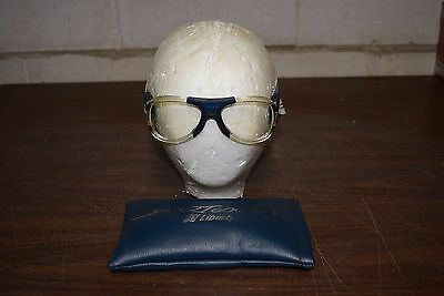 Vintage Liberty Sports Glasses  / Goggles, With Case, Racquetball, Estate Find