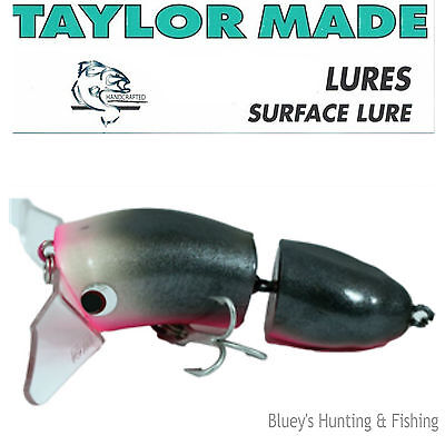 Taylor Made Cod-Walloper surface BARRA, COD Lure articulated Lure;GP Galah New
