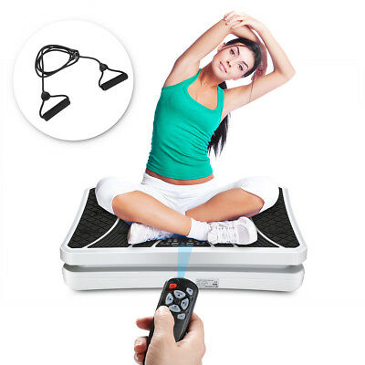 New Vibration Machine Exercise Vibrating Plate Platform Trainer Fitness BLK