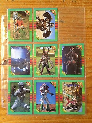 Mighty Morphin Power Rangers 59 Trading Cards Lot The New Season Near Mint 1994