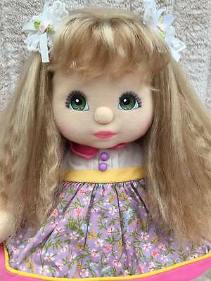 My Child Doll Ash Blonde Crimp Green Charcoal