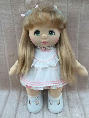 My Child Doll Ash Blonde 88 UL Green Charcoal comes in ABC Dress