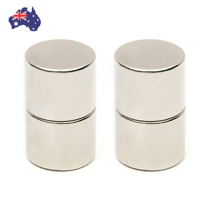 4x N52 25x20mm Large Strong  Powerful Fridge Magnets Neodymium Round Rare Earth