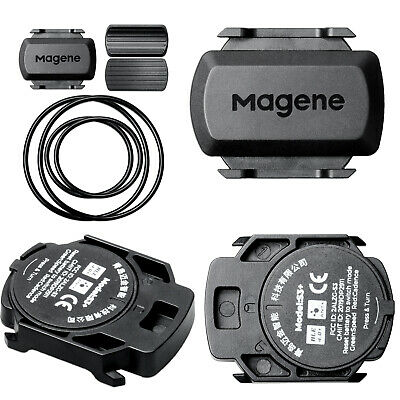 IP54 Waterproof ANT+ & Bluetooth Speed & Cadence Sensor for Garmin Bryton Bike