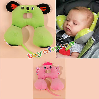 Baby Travel Car Animal Seat Pillow Stroller Cushion Head Neck Support Headrest