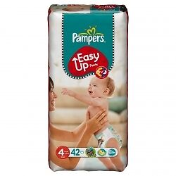 Pampers Easy Up S4 - 2x 42 Couches