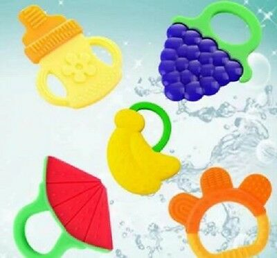 New Infant Chewing Training Toys Baby Teether Chew Teething Silicone