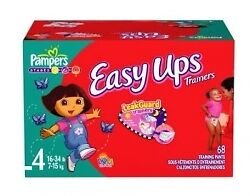 Pampers Easy Up S4 - 6x 16 Couches