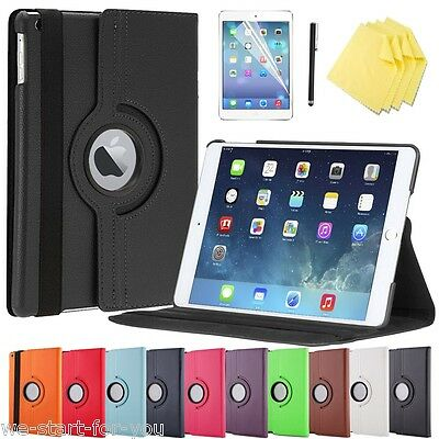 Noble 360° iPad Air 2/Ipad 6 Etui Coque+ film Etui Smart étui sac 10F