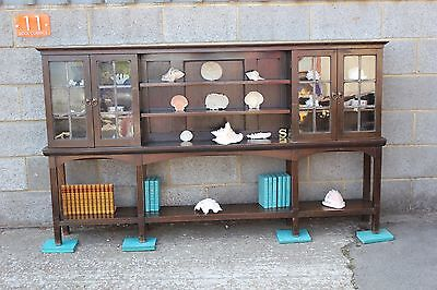 An Arts and Crafts Oak Bookcase
