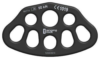 Singing RockRIGGING PLATE 3/5 Device for multi-point anchoring