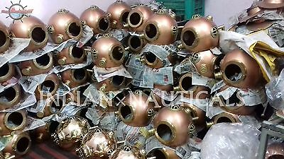 LOT OF 100 PCS ANCHOR US NAVY MARK IV DIVING DIVERS HELMET SOLID STEEL IxN