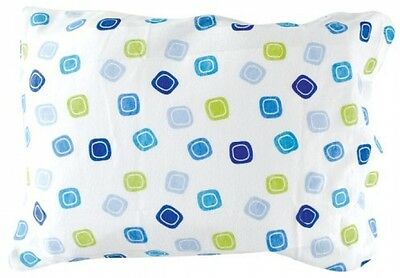 Luvable Friends Infant Pillow Case, Traditional Blue Print Brand New Free Shipp