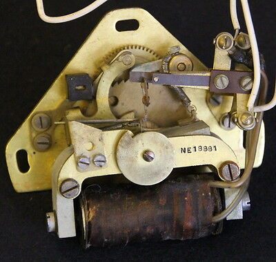 ITR / IBM slave clock mechanism. Not Synchronome, GENTS PUL-SYN-ETIC or Magneta