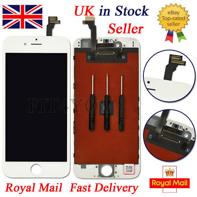 """For iPhone 6 4.7"""" White LCD Display Touch Screen Digitizer Assembly Replacement"""