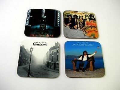 ELO, Jeff Lynne, The Traveling Wilburys Album Cover COASTER Set