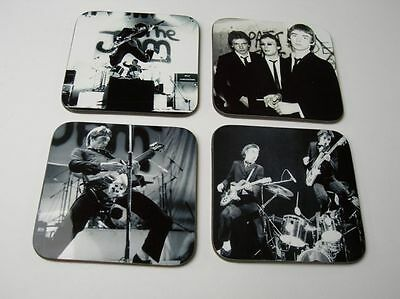 The Jam Paul Weller BW COASTER SET