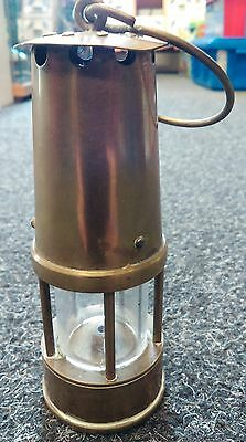 5 inches protector Lamp Eccles Miner Paraffin Brass Lamp