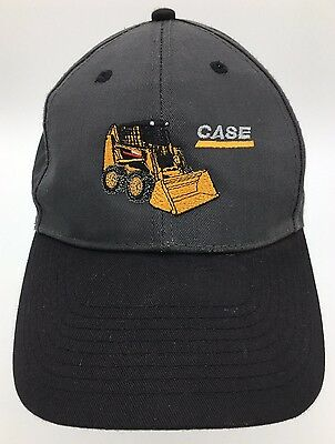 Case Skid Steer Loader Embroidered Snapback Hat