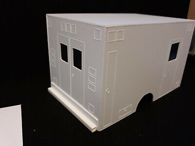 ambulance body rescue Model  1:24 1:25 scale diorama