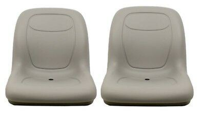 John Deere Pair(2) Gray Seats fit Gator 4X2HPX 4X4HPX and 4X4Trail HPX Series