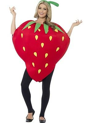 New Adult Unisex Strawberry Costume