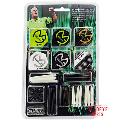 XQ Max Michael van Gerwen Accessories Pack - MVG1006