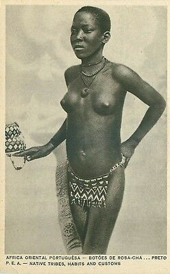 Mozambique.n°31180.native Tribes,habits And Customs.africa Oriental Portugu