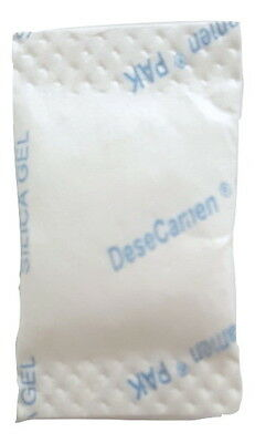 1/4 Gram Silica Gel - Desiccant Tyvek Packets - Moisture Absorber (100pc-5000pc)