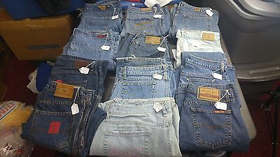 Mixed Lot of 11 Women's premium jeans,Various Brands,sizes for Resale