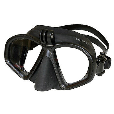 BEUCHAT GP1 - Two glass mask with very low Volume and Action Cam Holder