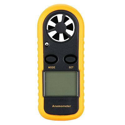 KS Digital GM816 LCD Digital Handheld Wind Speed Gauge Meter Measure Anemometer