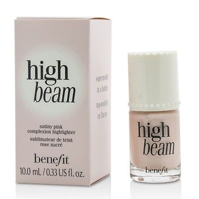 NEW Benefit High Beam Satiny Pink Complexion Highlighter 0.33oz Womens Make Up