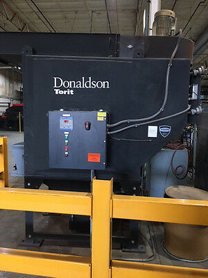 torit dust collector-Donaldson-Model No. ADF02-8-7.5 HP